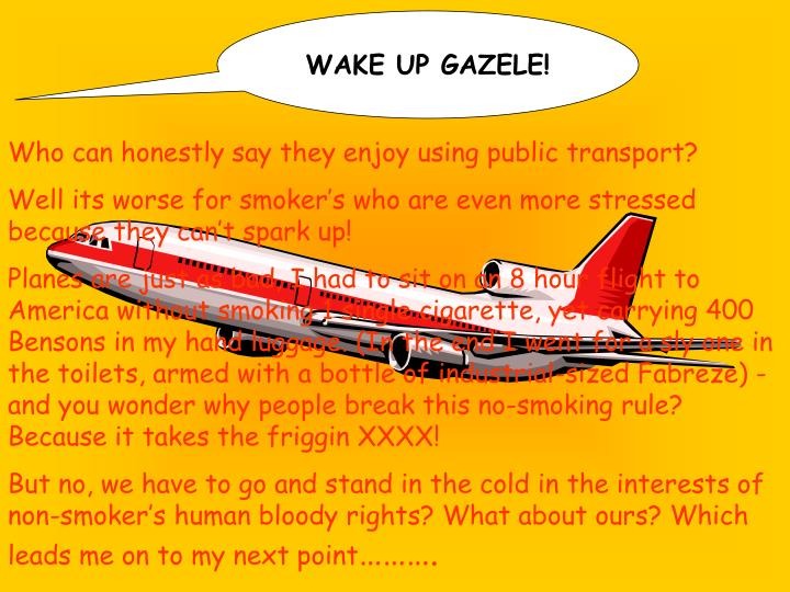 WAKE UP GAZELE!