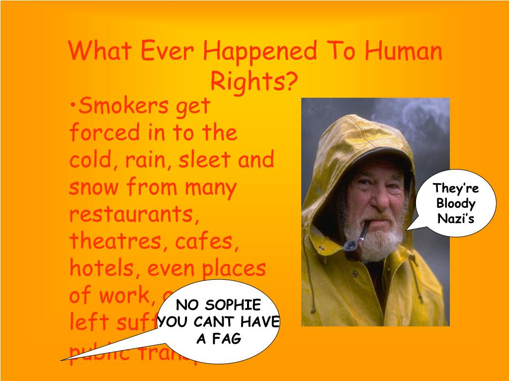 What Ever Happened To Human Rights?