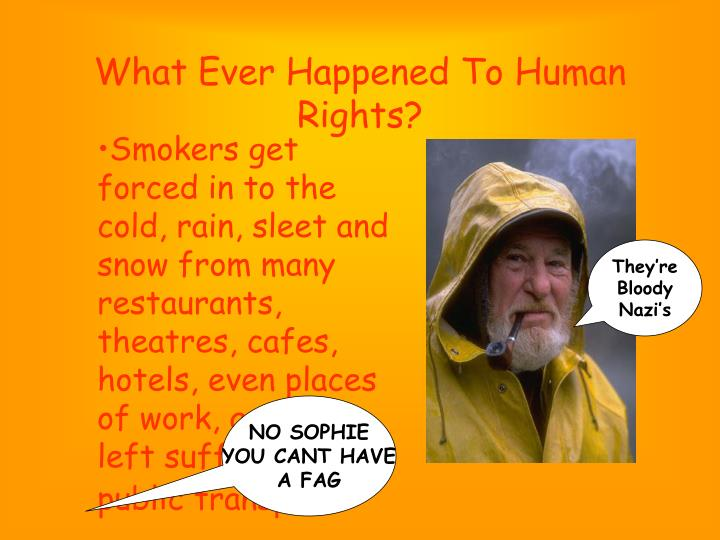 What ever happened to human rights