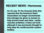recent news hormones51