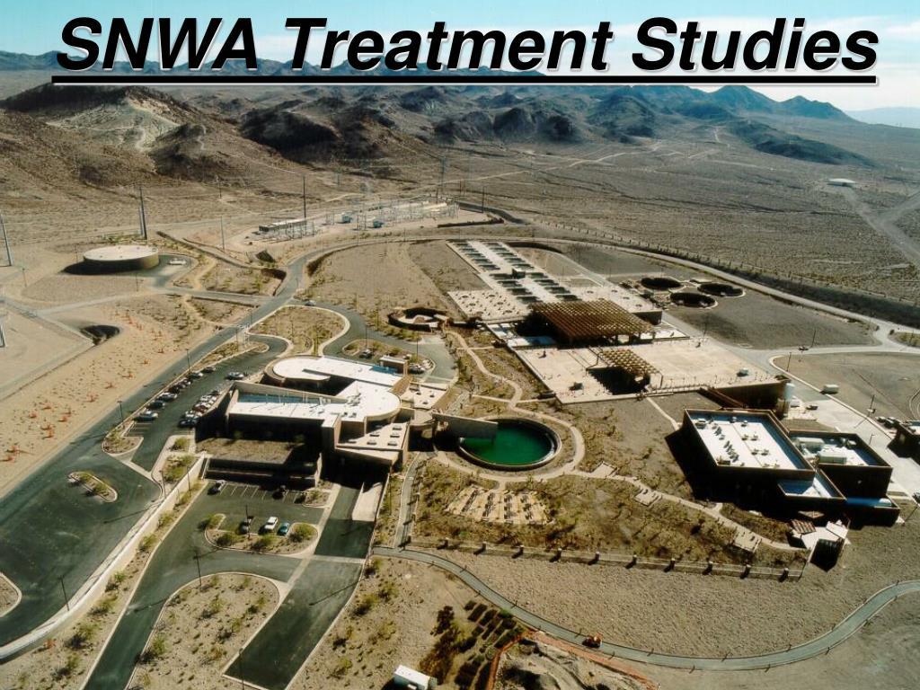 SNWA Treatment Studies