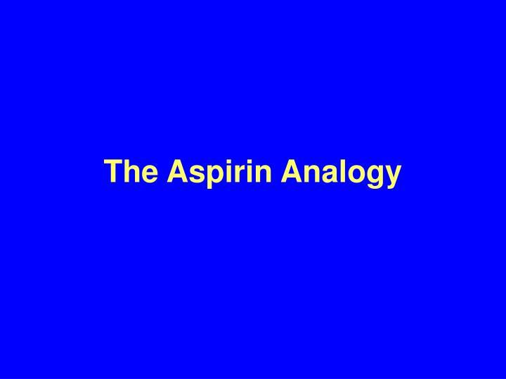 The Aspirin Analogy