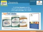 for 9 free samples and the superfood solution user s guide call 1 877 772 4362 m f pacific