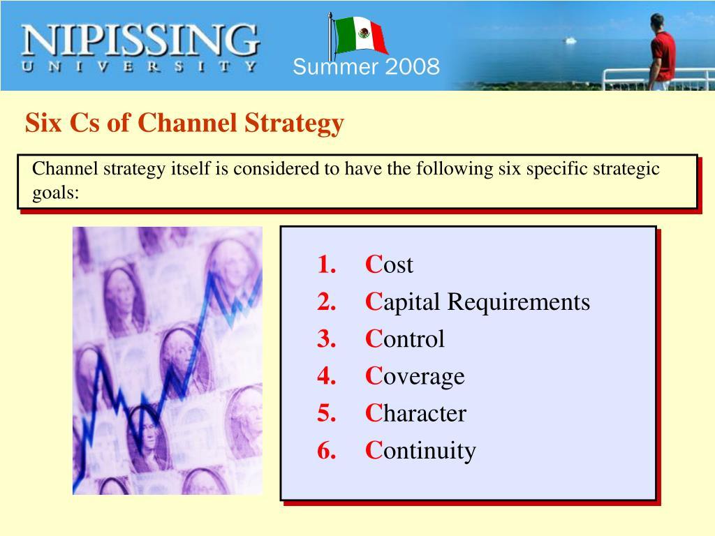 Six Cs of Channel Strategy