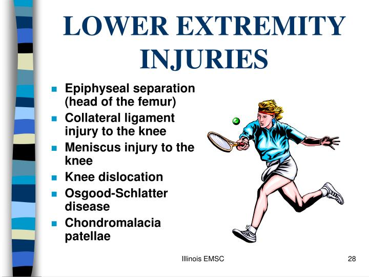 LOWER EXTREMITY INJURIES