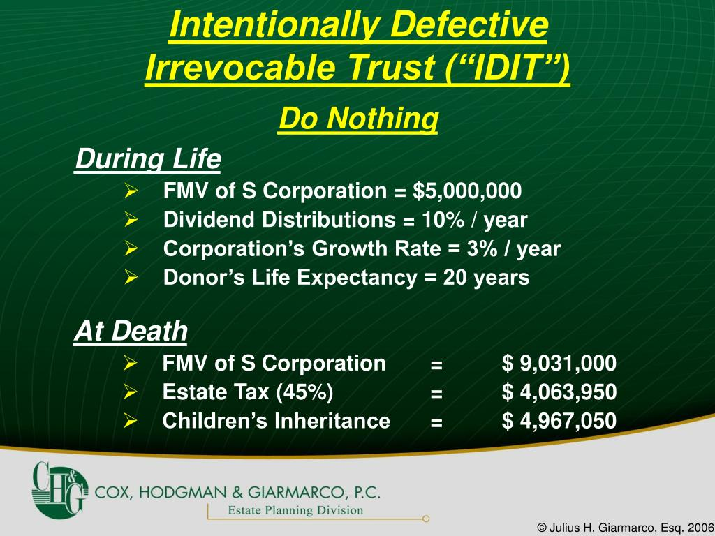 Intentionally Defective
