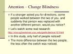 attention change blindness