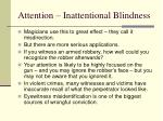 attention inattentional blindness25