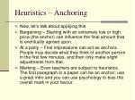 heuristics anchoring17