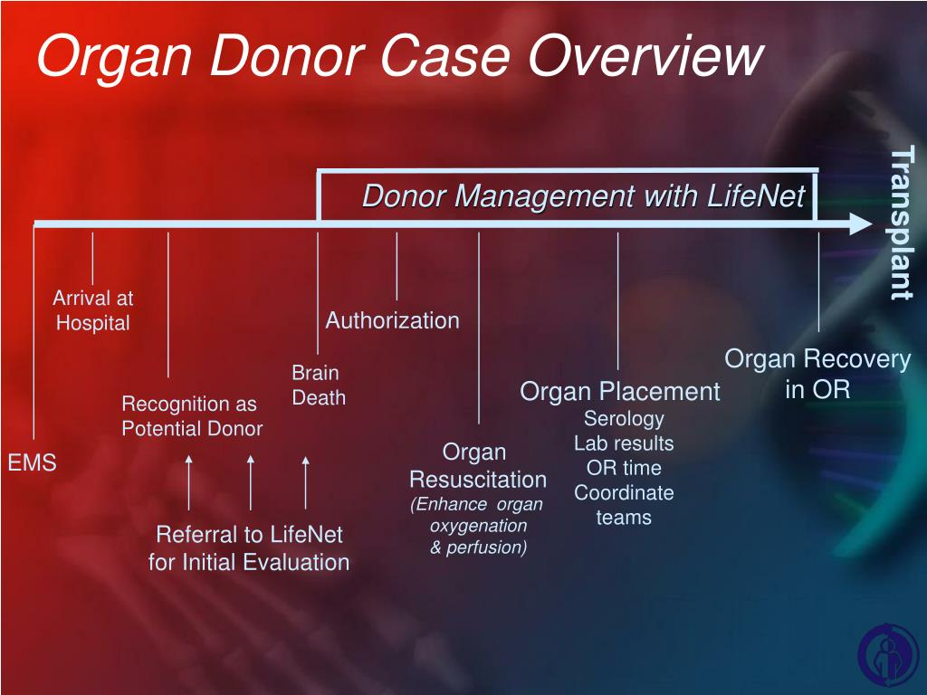 Organ Donor Case Overview