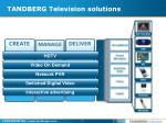 tandberg television solutions11