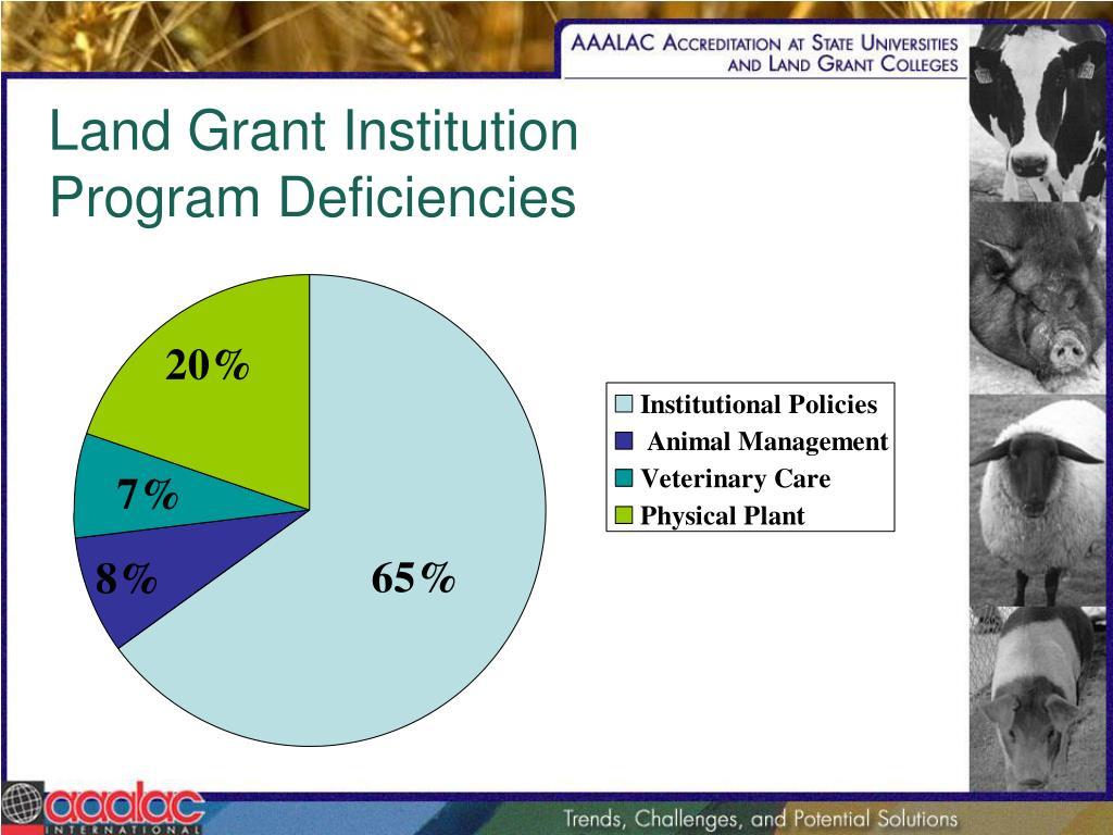 Land Grant Institution