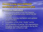 action item 1 develop a long term kswebiz enrollment and management plan7