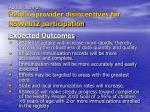 action item 3 reduce provider disincentives for kswebiz participation16