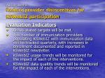 action item 3 reduce provider disincentives for kswebiz participation17