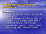 action item 4 provide incentives for kswebiz participation20