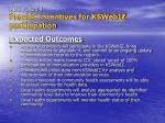 action item 4 provide incentives for kswebiz participation21