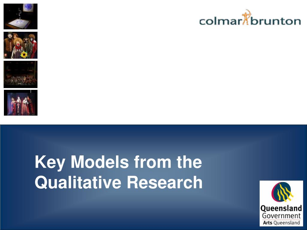 Key Models from the