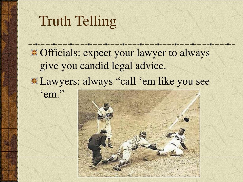 Truth Telling