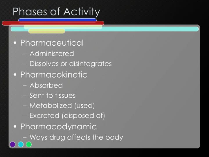 Phases of Activity
