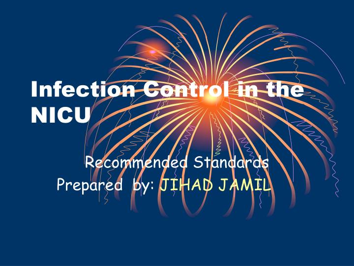 infection control in the nicu n.