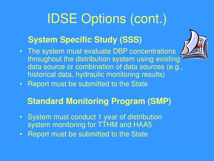 IDSE Options (cont.)