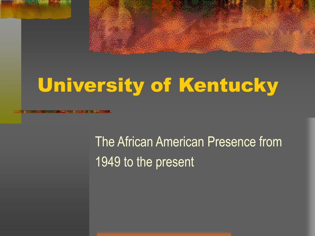 university of kentucky l.