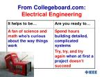 from collegeboard com electrical engineering
