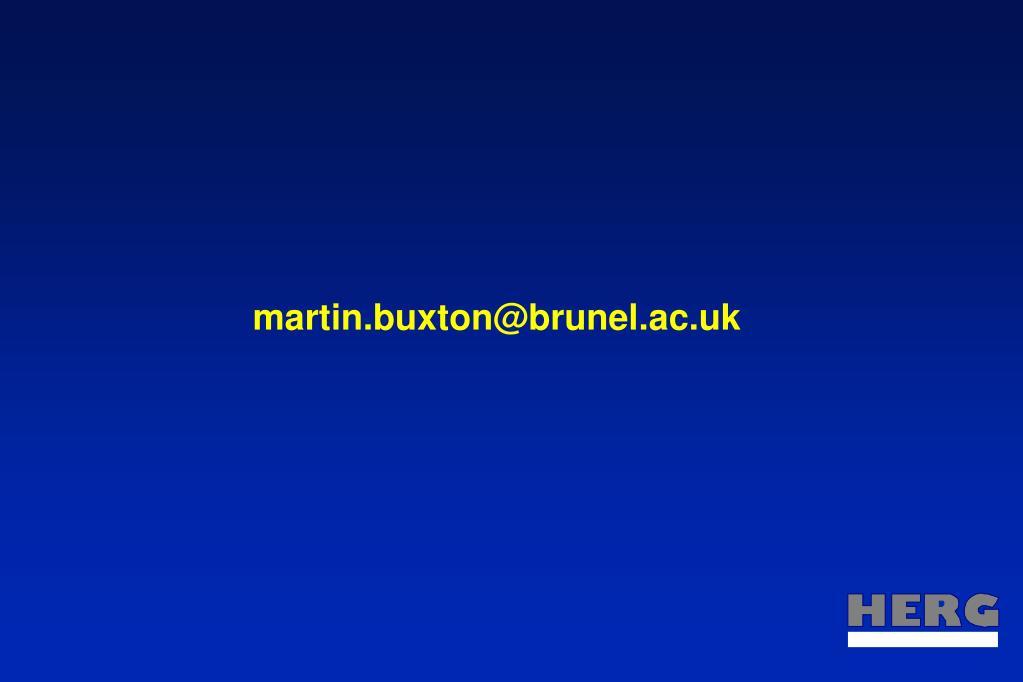 martin.buxton@brunel.ac.uk