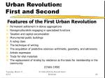 urban revolution first and second26