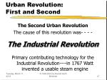 urban revolution first and second27