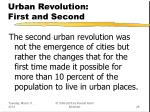 urban revolution first and second28
