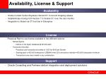 availability license support