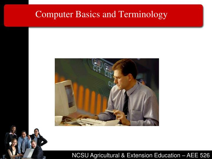 Computer basics and terminology