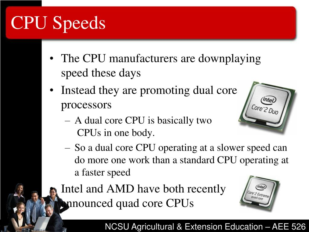 CPU Speeds
