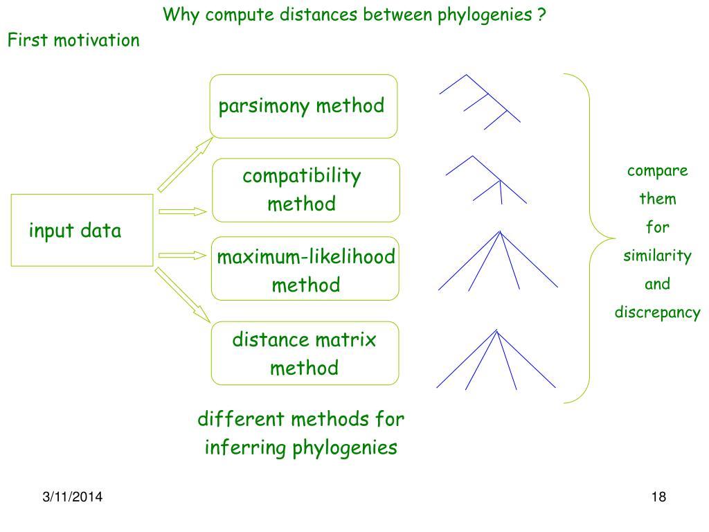 parsimony method