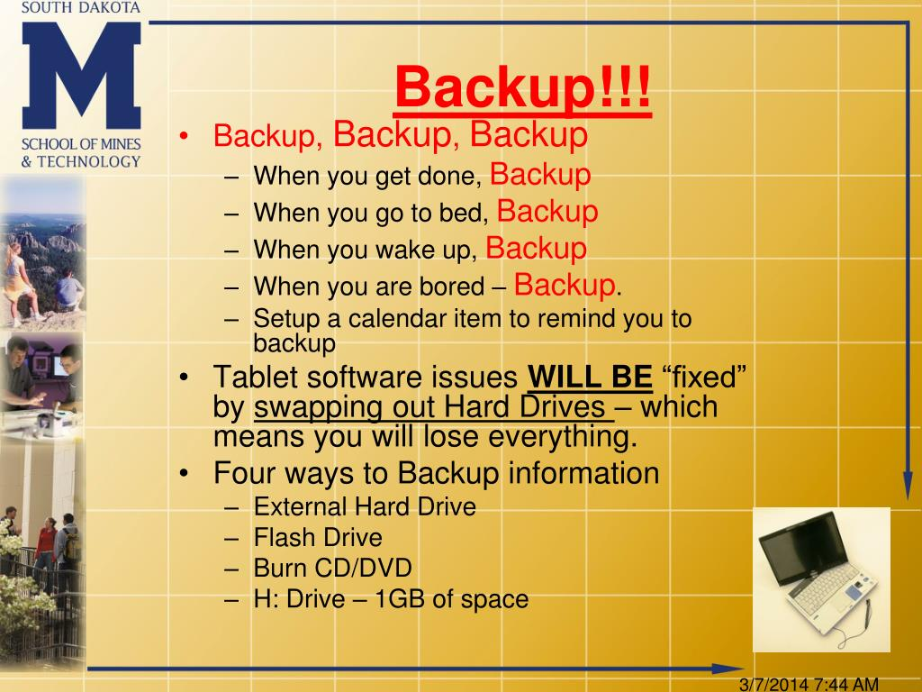 Backup!!!