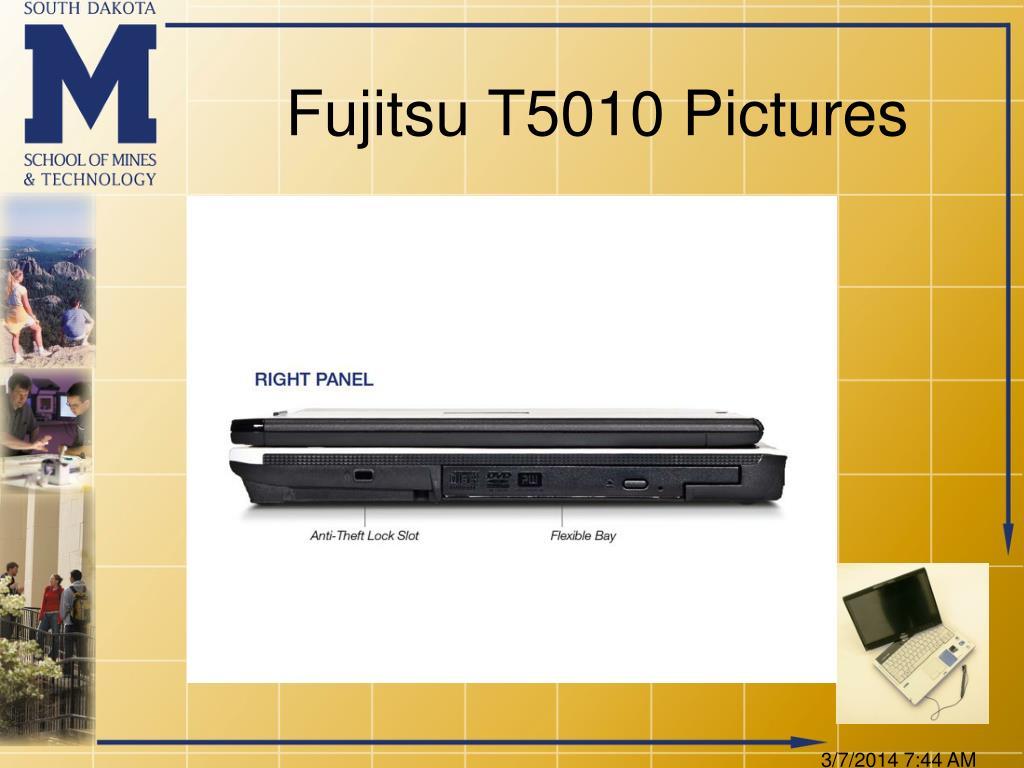 Fujitsu T5010 Pictures