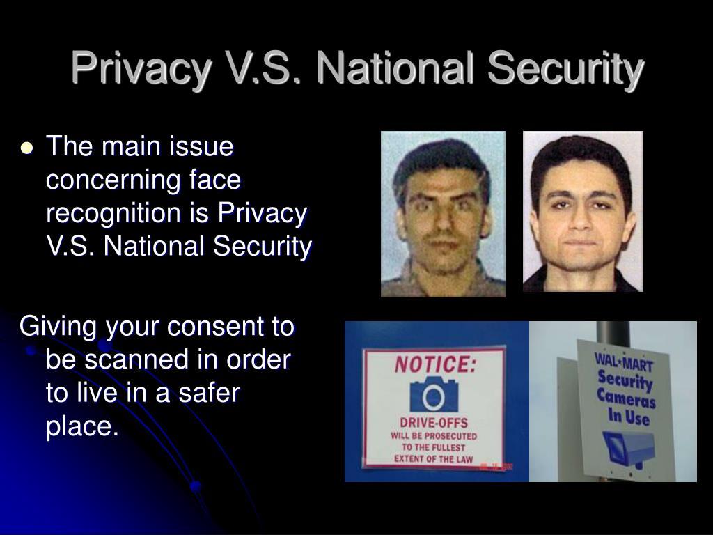Privacy V.S. National Security