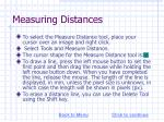 measuring distances