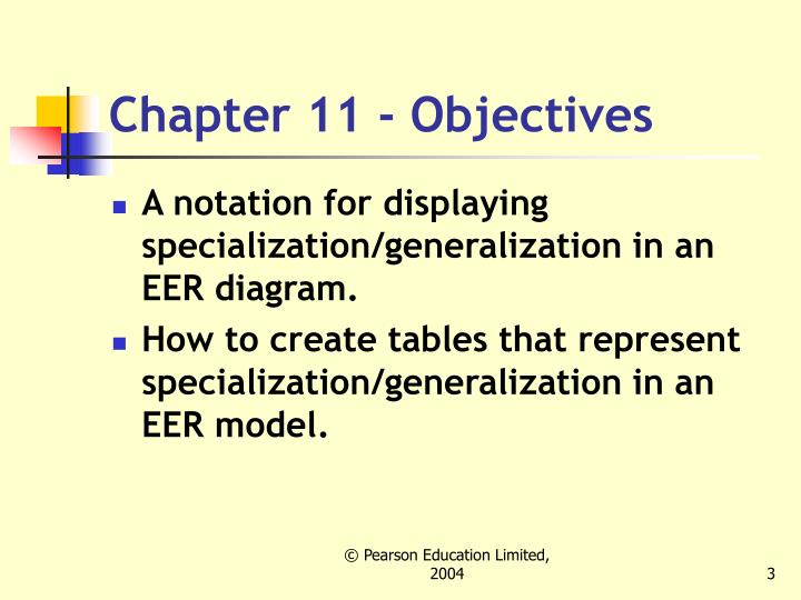 Chapter 11 objectives3