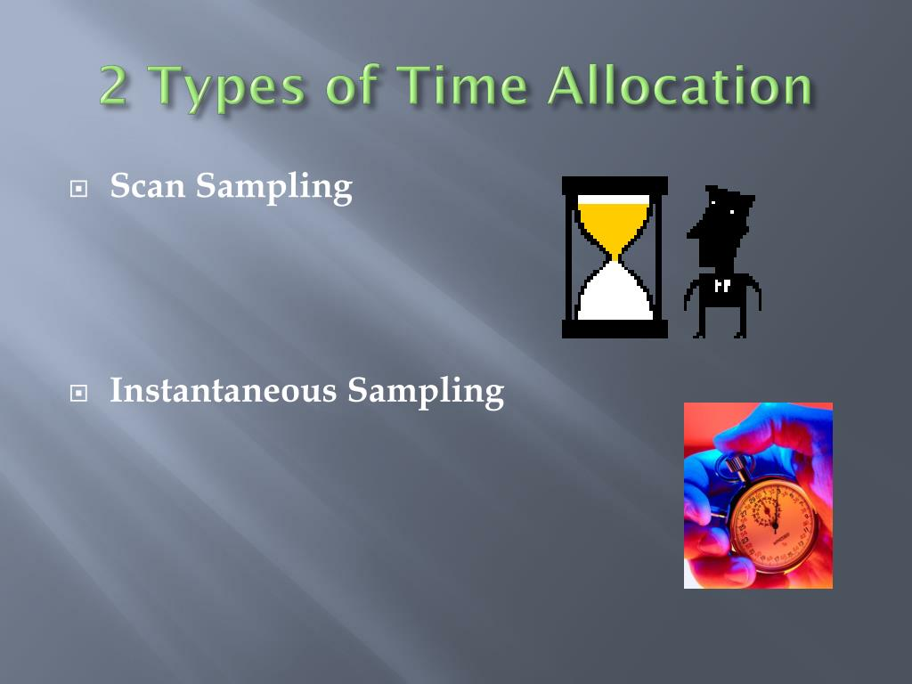 2 Types of Time Allocation