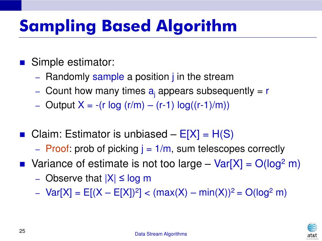 Sampling Based Algorithm