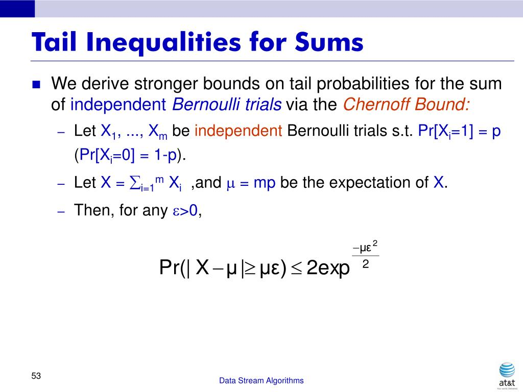 Tail Inequalities for Sums