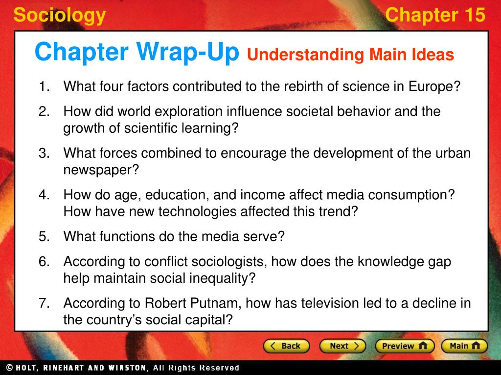 Chapter Wrap-Up