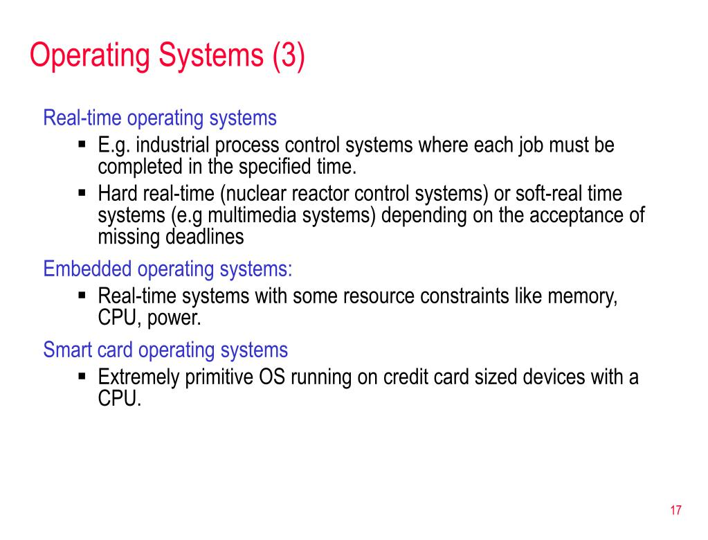 Operating Systems (3)