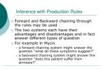 inference with production rules2