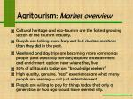 agritourism market overview