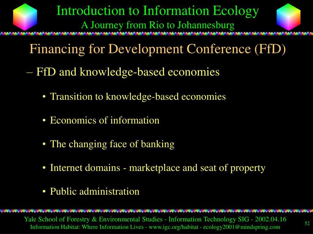 Financing for Development Conference (FfD)
