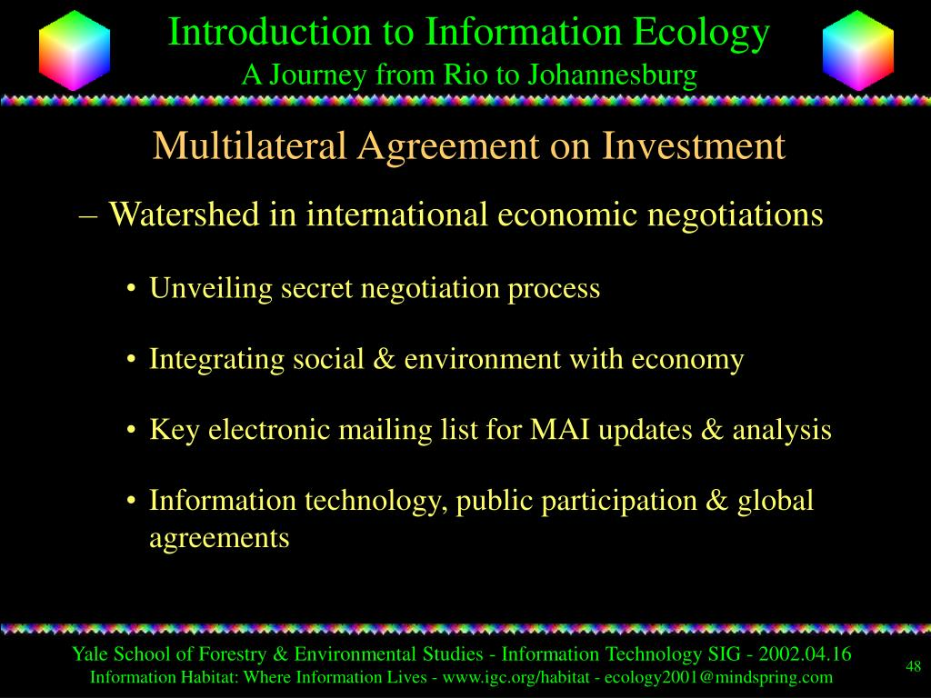 Multilateral Agreement on Investment